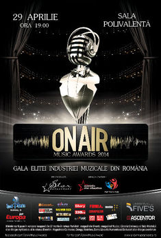 Gala On Air Music Awards, anulata din lipsa de fonduri