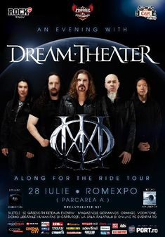 Dream Theater transmite un mesaj publicului din Romania