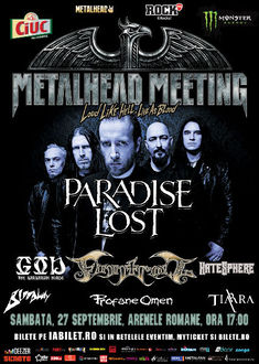 Bilete Meet & Greet si modificari de presale la METALHEAD Meeting