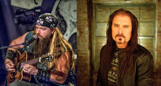 Zakk Wylde, alaturi de James La Brie,  in Metal All Stars