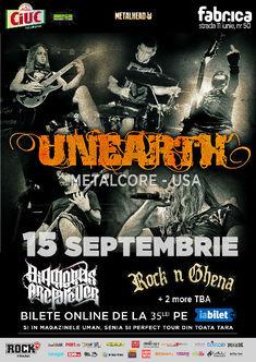 Crimena si Chaos Cult vor canta cu UNEARTH, DAF si RNG pe 15 septembrie