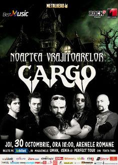 Cargo - Noaptea Vrajitoarelor: Ultimele doua saptamani in care gasiti bilete la 30 de lei
