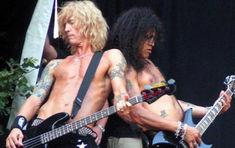 Slash & Duff, impreuna pe scena, pentru o piesa Guns N Roses (video)