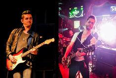 Chitaristii Marius Pop (Smiley) si Roland Kiss (Alex Velea) canta rock impreuna