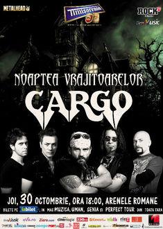 AURA deschide showul CARGO  Noaptea Vrajitoarelor de Halloween de la Arenele Romane