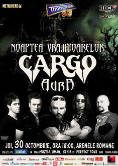 Voteaza trupa care va deschide showul CARGO - Noaptea Vrajitoarelor