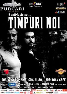 Timpuri Noi canta Joi la Hard Rock Cafe din Bucuresti