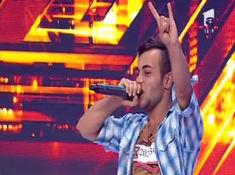 Un vrancean aduce death-metalul pe scena X Factor (video)