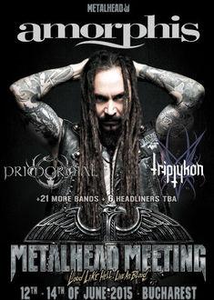 AMORPHIS, primul mare headliner confirmat pentru METALHEAD Meeting 2015