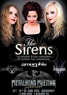 Anneke, Liv Kristine si Kari Rueslatten aduc THE SIRENS la Metalhead Meeting 2015