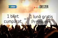 Iabilet.ro iti ofera o luna gratuita de Deezer Premium +