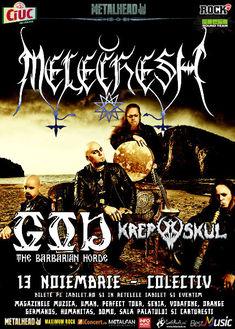 Krepuskul deschid showul Melechesh de pe 13 noiembrie din Colectiv