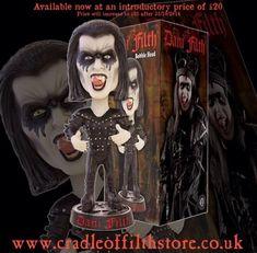 Cradle of Filth lanseaza papusi si pregateste un nou album
