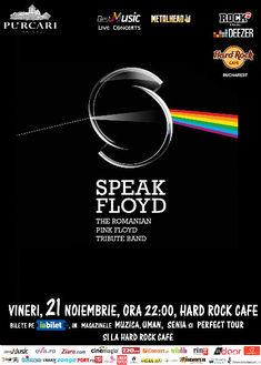 Speak Floyd, tributul romanesc Pink Floyd, canta pe 21 noiembrie la Hard Rock Cafe