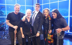 Tarziu, in noapte: Metallica, live la Late Late Show with Craig Ferguson (video)