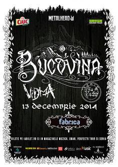 TANIN va canta alaturi de Bucovina pe 13 decembrie la fabrica