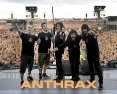 Anthrax s-au intors din nou in studio (video)
