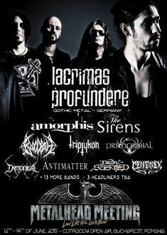 LACRIMAS PROFUNDERE canta la Metalhead Meeting 2015