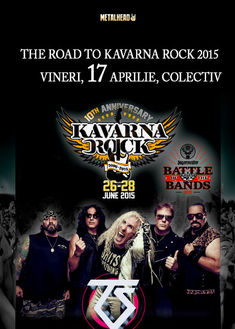 TRUDA la The Road to KAVARNA Rock 2015