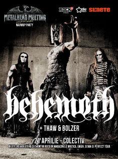 Detalii, book signing si reguli de acces pentru concertul Behemoth de la Bucuresti