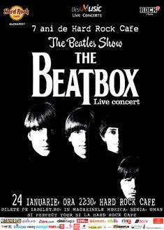 Vino costumat la 7 ani de Hard Rock Caf la Beatles Live Tribute si poti castiga premii surpriza !