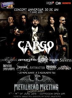 CARGO aniverseaza 30 de ani de activitate pe 11 iunie in cadrul festivalului de patru zile, Metalhead Meeting 2015