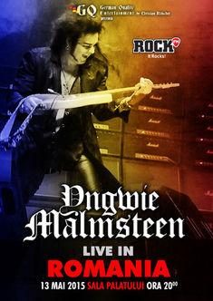 Concert Yngwie Malmsteen in Romania