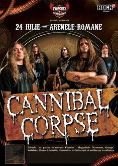 Cannibal Corpse la Bucuresti