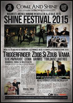 Zdob si Zdub canta la festivalul SHINE 2015