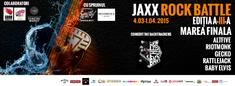 Astazi, 1 Aprilie, are loc finala Jaxx Rock Battle