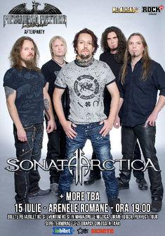 Trooper, An Theos si Shifting Sands canta cu Sonata Arctica pe 15 iulie la Bucuresti