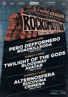 ROCKOMOTIVA se face la Craiova. Capete de linie la prima editie: Twilight of the Gods, Alternosfera si Alexandrina