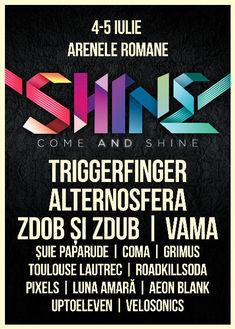Luna Amara, Aeon Blank, Velosonics si Up To Eleven canta la Festivalul Shine editia 2015