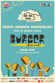 Incepe nebunia burgerilor, la prima editie BURGERFEST