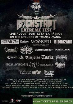 Ultima saptamana de bilete la pret redus pentru Rockstadt Extreme Fest 2015