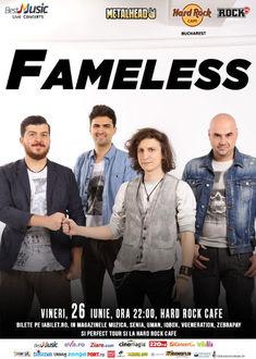 Fameless, trupa lui Tiberiu Albu, va sustine primul concert la Hard Rock Cafe