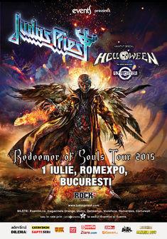 Poze cu Judas Priest si Helloween la Romexpo