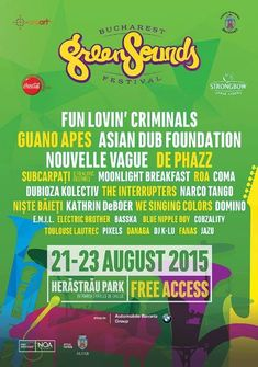 Guano Apes la Bucharest Green Sounds Festival