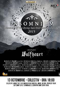 INSOMNIUM si Wolfheart concerteaza in premiera in Romania
