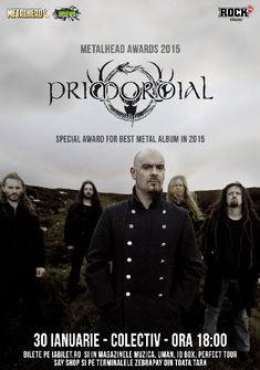 PRIMORDIAL canta pe 30 ianuarie la METALHEAD Awards