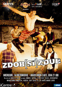 ZDOB si ZDUB canta la Hard Rock Cafe pe 14 octombrie
