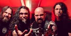 Slayer vor in Rock And Roll Hall Of Fame