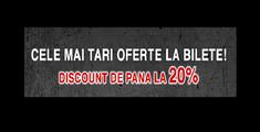 Discount de pana la 20 de procente pe www.iabilet.ro la concertele METALHEAD