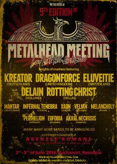 Mai avem o saptamana de Earlybird la Metalhead Meeting 2016