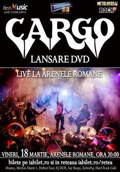 CARGO lanseaza printr-un concert, DVD-ul Cargo Live la Arenele Romane pe 18 martie