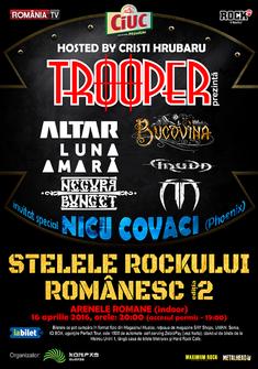 Trooper prezinta Stelele Rockului Romanesc  editia a II - a