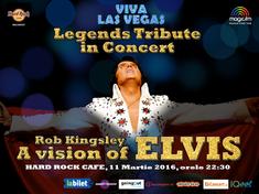 Viva Las Vegas! 'Elvis' aduce magia rock&roll-ului in Hard Rock Cafe