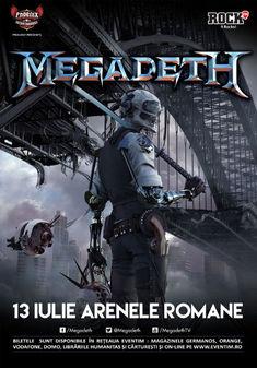Myrath si Dirty Shirt canta in deschiderea show-ului Megadeth de la Bucuresti