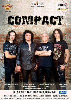 COMPACT - Remember the 80s pe 9 iunie la Hard Rock Cafe