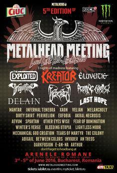 Vom avea pahare personalizate cu logo-ul festivalului, la Metalhead Meeting